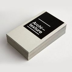Architecture : Lovely Stationery . Curating the very best of stationery design