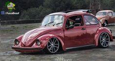 Slammed Vw beetle