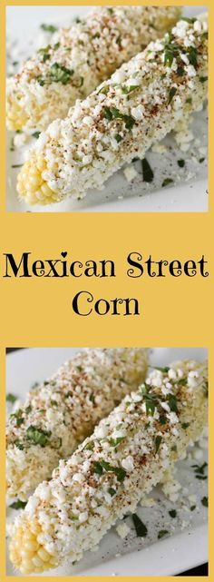 Tasty Mexican Street Corn Recipe Source by paulettaletta Corn Recipes, Side Dish Recipes, Veggie Recipes, Mexican Food Recipes, New Recipes, Cooking Recipes, Favorite Recipes, Healthy Recipes, Side Dishes