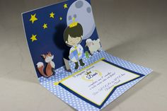 O pequeno príncipe Little Prince Party, The Little Prince, Lol Dolls, Little Boys, Projects To Try, Baby Shower, Invitations, Birthday, Cards
