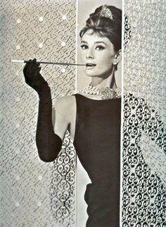 Audrey Hepburn  Love this neckline/sleeveless top