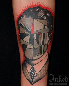Pietro Sedda #InkedMagazine #tattoo #art #inked #abstract