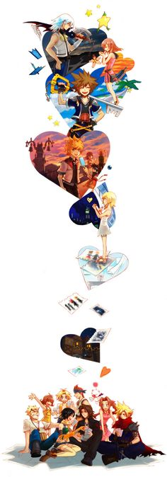 Kingdom Hearts by ravenclaw20401