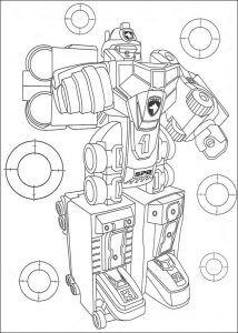 Imagens para pintar dos Power Rangers - 14
