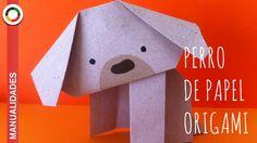 Tutorial de Origami. Aprende paso a paso cómo hacer un perrito de papel. http://manualidades.euroresidentes.com/2014/05/como-hacer-un-perro-de-papel-origami....