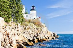 Lighthouse In Maine - Download From Over 41 Million High Quality Stock Photos, Images, Vectors. Sign up for FREE today. Image: 14054375