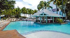 Pool bar at The Condado Plaza Hilton in Puerto Rico #travel