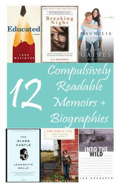 12 Compulsively Readable Memoirs + Biographies // If you're looking for tales of real life that are as readable as many novels, check out these 12 picks! Book Cafe, Book Club Books, Book Lists, Books To Read, Buy Books, Biography To Read, Best Non Fiction Books, Best Biographies, American History Lessons