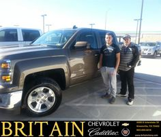 https://flic.kr/p/Da12no | Happy Anniversary to Rufino on your #Chevrolet #Silverado 1500 from Mike Donahoe at Britain Chevrolet Cadillac! | deliverymaxx.com/DealerReviews.aspx?DealerCode=I827