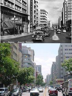 Avenida Urdaneta en dos tiempos!!