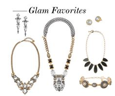 Glam Favorites Stella and Dot | BB Style-loving the art deco type Phoenix necklace in the center. StellaDot.Com/KrystalS