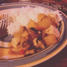 Heat's Kitchen: Thai Chicken with Basil and Pineapple