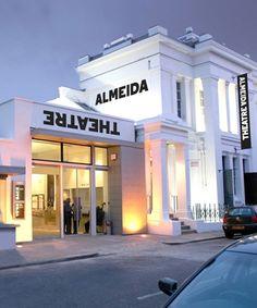 Almeida Theatre identity, by NB Studio