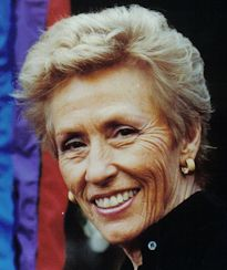 Major General Jeanne Holm, USAF (Ret.) was a driving force in achieving parity for military women. After enlisting during World War II as a truck driver in the Women's Army Auxiliary Corps, Holm graduated from Officer Candidate School and, after the war, received a regular commission in the newly formed United States Air Force.