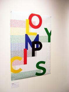 posters alternativos creados para Londres 2012