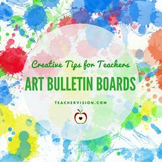 Tips on Creating Art Bulletin Boards Printable (K - 6th Grade) https://www.teachervision.com/art-appreciation/printable/6513.html?utm_content=buffer1fbfe&utm_medium=social&utm_source=pinterest.com&utm_campaign=buffer
