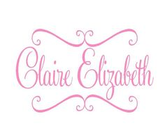 personalized  vinyl wall decal name first by openheartcreations, $39.00