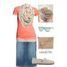 Perfect modest summer outfit! Fashionable, too! Check out the website to see more