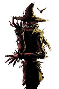 the scarecrow by helioart.deviantart.com on @deviantART