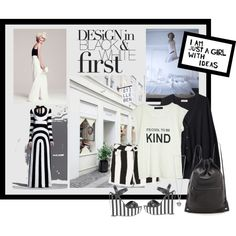 """""""Spring Trend - Stripes 1"""" by wantering on Polyvore"""