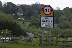 Ancient names: The Gloucestershire village of Old Sodbury comes from corrupted Old English and would have meant ' The fortified village of Soppa' referring to a Roman fort