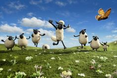 My stil for Shaun the sheep movie