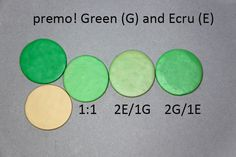 New Color Tuesday- It's All About the Green Pt 4 | Sculpey