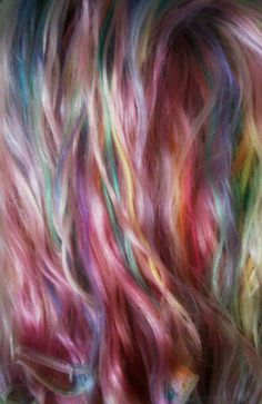 The Victoria Galaxy: Pastel, Rainbow, & Candy-Colored Hair