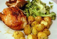 Συνταγές : Κοτόπουλο με πατάτες στο φούρνο λεμονάτο