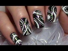 Abstraktes Multichrome Nageldesign einfach selber machen / Herbstnägel / Fall Nail Art Design - http://47beauty.com/nails/index.php/2016/07/26/abstraktes-multichrome-nageldesign-einfach-selber-machen-herbstnagel-fall-nail-art-design/ http://47beauty.com/nails/index.php/nail-art-designs-products/  Heyy, =) in diesem Video zeige ich euch ein selbstgemaltes abstraktes Nageldesign. Ich habe das schwarze Muster mit meinen heißgeliebten Multichrome Flakie Nagellacken von Polish m