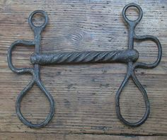 Antique horse bit collection