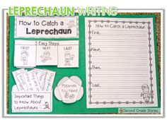 Using Music to Inspire Writing - a leprechaun chase! - Second Grade Stories