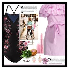 """""""Rosegal fashion set"""" by erina-salkic ❤ liked on Polyvore featuring fashionset, polyvorefashion, worldwide, freeshipping and rosegal"""