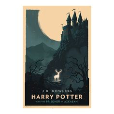 Olly Moss Harry Potter and the Prisoner of Azkaban posterYou can find Prisoner of azkaban and more on our website.Olly Moss Harry Potter and the Prisoner of Azkaban poster Harry Potter Poster, Harry Potter Audio Books, Art Harry Potter, Harry Potter Book Covers, Harry Potter Hogwarts, Rowling Harry Potter, Olly Moss, Wallpaper Harry Potter, Foto Poster