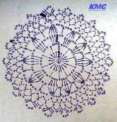 Regata Branca em Crochê com Gráfico - Katia Ribeiro Crochê Moda e Decoração