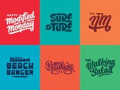 Modified Monday by CJ Zilligen #Design Popular #Dribbble #shots
