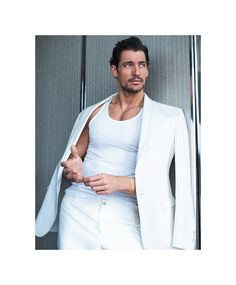 David Gandy Tumblr — David Gandy on the cover of the April issue of...