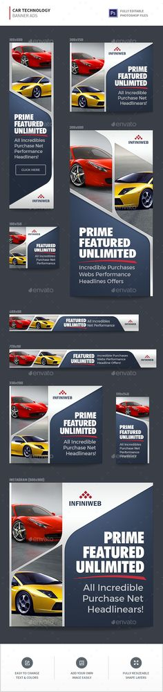 Car Technology Banner Ads - Banners & Ads Web Elements Download here : https://graphicriver.net/item/car-technology-banner-ads/19679083?s_rank=25&ref=Al-fatih