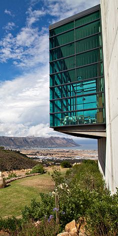 Somerset West - views from Waterkloof over False Bay.