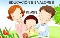 Cuadernos completos para trabajar los valores para Educación Infantil