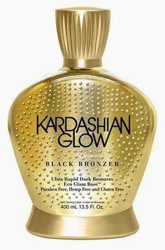 2015 Tanning Lotion Reviews @ Lotion Review.com: Kardashian Glow Black Bronzer