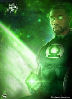 Green Lanterns, Green Lantern Corps, Green Lantern Characters, Handsome Black Boys, John Stewart Green Lantern, Black Adam Shazam, Justice League Aquaman, Actors Birthday, Superman Dawn Of Justice