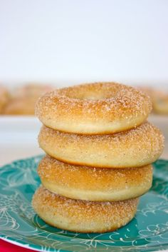 ~ Baked Doughnut Recipe, Krissy's Creations ~
