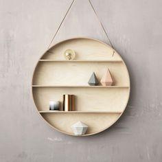 The Round Dorm - Wandregal - Dänisch Design - Aufbewahrung