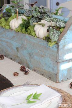 Fresh fall tablescap