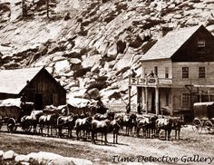"""El Dorado County, California - 1866. Slippery Ford House. This photo is printed borderless on 8 1/2"""" x 11"""" premium glossy photo paper with quality inks. Prints can also be made on matte photo paper.   eBay!"""