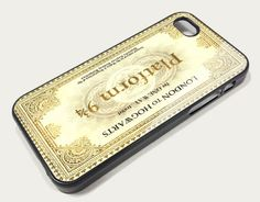Harrry Potter Tickets Platform Iphone case for iphone 5 | koolcase - Accessories on ArtFire