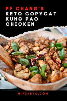 Low Carb Recipes To The Prism Weight Reduction Program Keto Kung Pao Chicken P. Healthy Food Recipes, Ketogenic Recipes, Asian Recipes, Low Carb Recipes, Cooking Recipes, Ethnic Recipes, Ketogenic Diet, Protein Recipes, Chinese Recipes