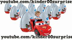 Kinder Surprise eggs Pixar Cars Mini modelle Masha and The Bear Mickey M...