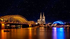 Cologne City Lights by Frank Bramkamp on 500px